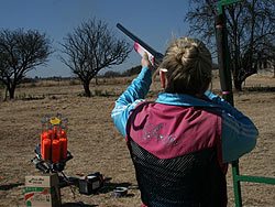 Clay Target Shooting